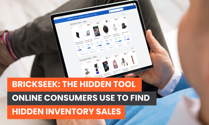 The Hidden Tool Online Consumers Use to Find Hidden Inventory Sales